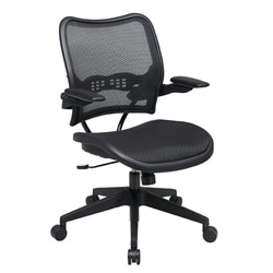 Office Star Deluxe AirGrid Seat and Back Cantilever Arms Office Chair 7813565