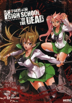 High School of the Dead: Complete Collection (DVD) 7819011