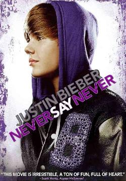 Justin Bieber: Never Say Never (DVD)