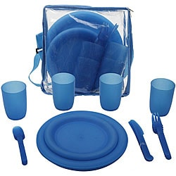 TrailWorthy 25-piece Picnic Set (Case of 12) 7831571