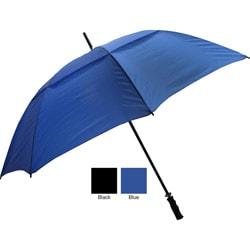 Premium Connection 065-FSVBK Fiberglass Shaft Umbrella - Black - Case of 24