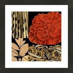 'Botanical Print II' Framed Print Art