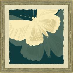 'Large Butterfly Print II' Framed Print Art