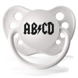 Personalized Pacifiers AB CD Music Pacifier