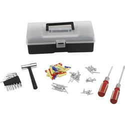 Ruff & Ready 101-piece Tool Box (Pack of 12)