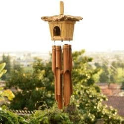 Bamboo Wind Chime Bird House (Indonesia)