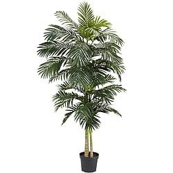 Golden Cane Palm 8-foot Silk Tree