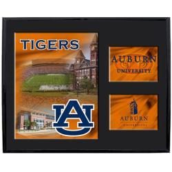 Auburn Tigers Mylar Wall Hanging Framed Logo