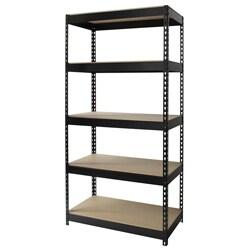 Iron Horse Riveted Steel 5-shelf Shelving Unit