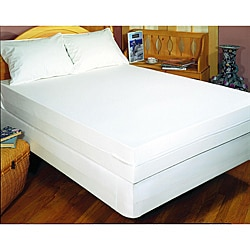 Pure Cotton Full-size Allergy Bedding Protection Set