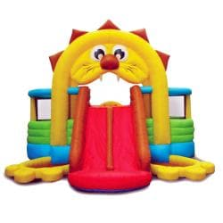 KidWise Lion's Den Inflatable Bounce House 7959640
