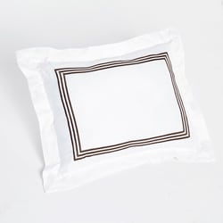 Barrato Chocolate Stripe Decorative Pillow