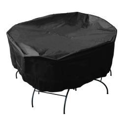 Mr. BBQ Premium Black Patio Set Cover