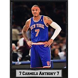 "Encore Select New York Knicks 9"" x 12"" Carmelo Anthony Plaque"