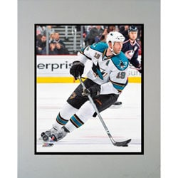 San Jose Sharks Joe Thornton Framed Photo