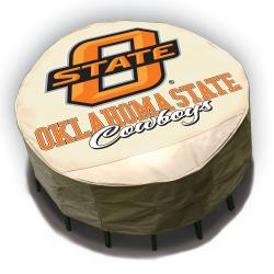 NCAA Oklahoma State Cowboys Round Patio Set Table Cover 7982779