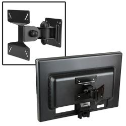 INSTEN Black Wall Mount Bracket for Flat Panel TVs