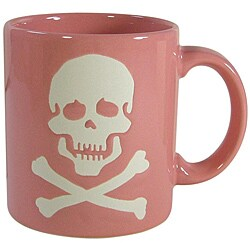 Waechtersbach Pink Skull Mugs (Set of 4)