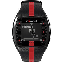 Polar Men's FT7MR Black/ Red Heart Rate Monitor