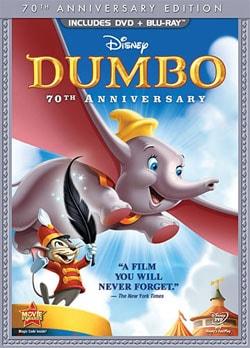 Dumbo (70th Anniversary Edition) (Blu-ray/DVD) 8003854