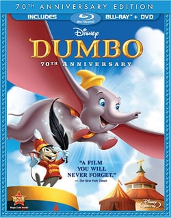 Dumbo (70th Anniversary Edition) (Blu-ray/DVD) 8003857