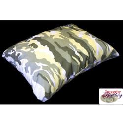 Integrity Bedding Medium Camouflage Memory Foam Camping Pillow
