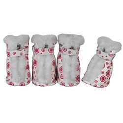 Pet Life Comfort Protective Fur Boots (Set of 4)