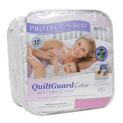 Protect-A-Bed QuiltGuard Cotton Twin XL-size Mattress Pad