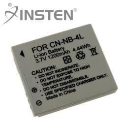 INSTEN Li-ion Battery for Canon NB-4L