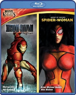 Marvel Knights: Iron Man & Spider Woman (Blu-ray Disc) 8044044