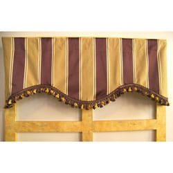Torrey Pine Vineyard Stripe Valance