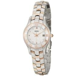 Seiko Women's SXDB76 'Reflections' Stainless and Rose-Gold Steel Quartz Watch 8053522