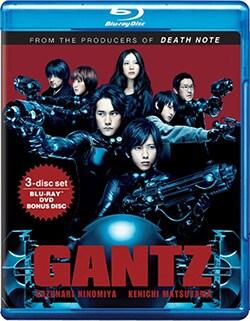 Gantz (Blu-ray/DVD) 8062634