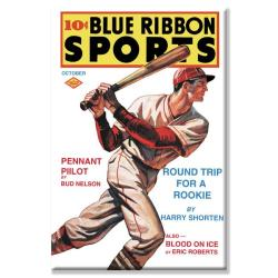 'Blue Ribbon Sports: Round Trip for a Rookie' Canvas Art