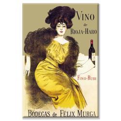 Ramon Casas 'Vino de Rioja-Haro' Canvas Art