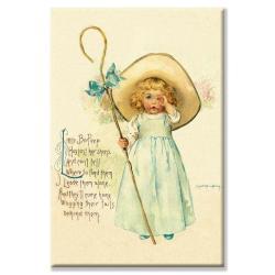 Maud Humphrey 'Little Bo Peep' Canvas Art
