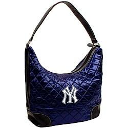 New York Yankees Quilted Hobo Handbag