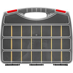 Parts Organizer Box with 23 Compartments