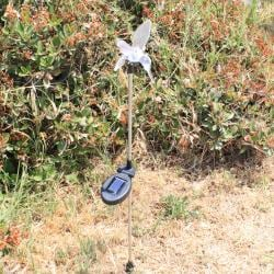 Solar Color Change Light Hummingbird Garden Stakes (Pack of 2)