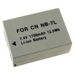 INSTEN Comptaible Li-ion Battery for Canon NB-7L/ PowrShot G10/ G11