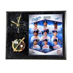 LA Dodgers Clock