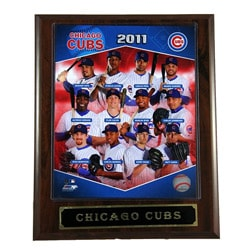 2011 Chicago Cubs Plaque
