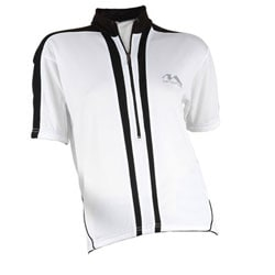 Cycle Force Women's M-Wave White Bicycle Jersey (Size Medium)
