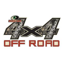Mossy Oak Break-up 4x4 Off Road Decal