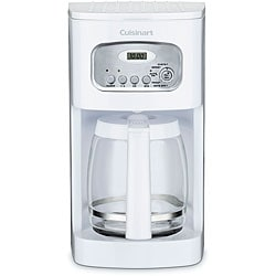 Cuisinart DCC-1100 White 12-cup Programmable Coffeemaker (Refurbished) 8100419