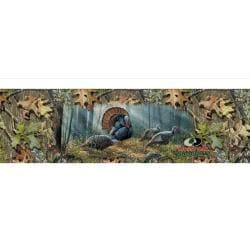 Woodland Splendor Turkey Rear Window Graphic