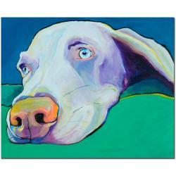 Pat Saunders-White 'Fritz' Canvas Art