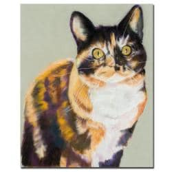 Pat Saunders-White 'Maggie Mae' Canvas Art