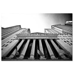 Yale Gurney 'New York Stock Exchange' Canvas Art