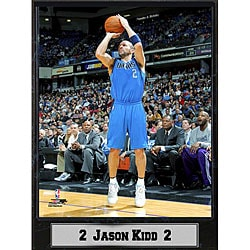 Dallas Mavericks Jason Kidd Plaque